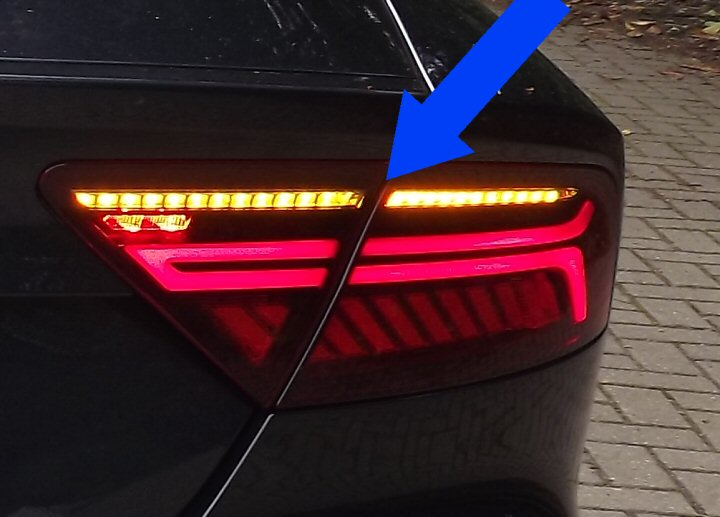 A7 4g Rear Leds With Dynamic Indicators Supply Amp Fit