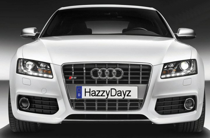 Audi A5 Bi Xenon Headlights With Led Drls 2007 2012 Supply Amp Fit