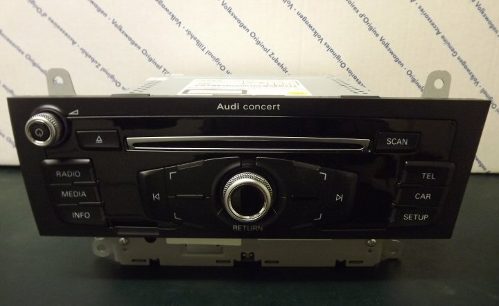 Genuine Audi Dab For Infotainment System My2012 Supply Amp Fit