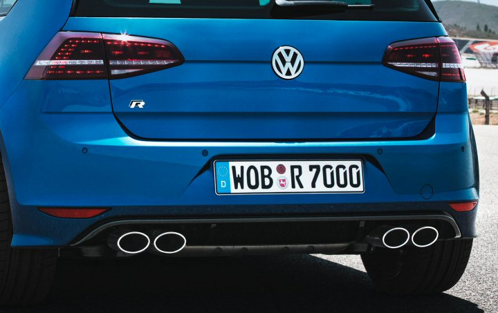 Mk7 Golf R 2013 Smoked Led Rear Lights Supply Amp Fit