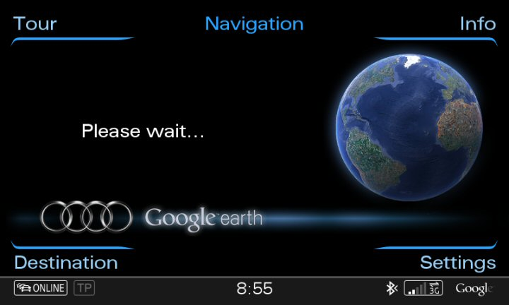 Mmi 3g Plus Firmware Update For Google Earth Via Sim And Phone Via Bluetooth