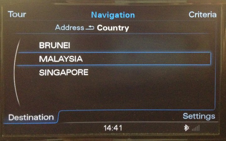 Mmi 3g Amp Mmi 3g Maps Conversion From Eu To Malaysia Australia South Africa Or Usa